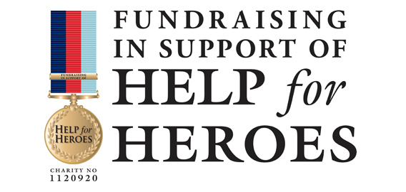 Charity Help the Heros Logo